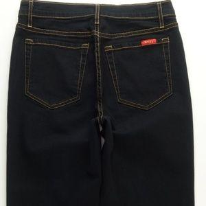 NYDJ Boot Cut Jeans Black Women's 8 Stretch A094